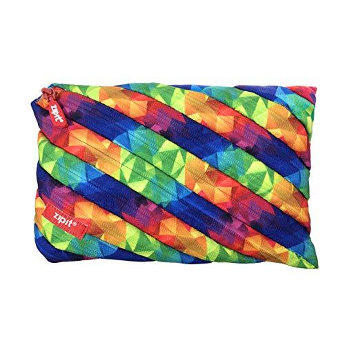 ZIPIT Fresh Colorz Twister Federmäppchen, Jumbo-Etui, Kaleidoskop