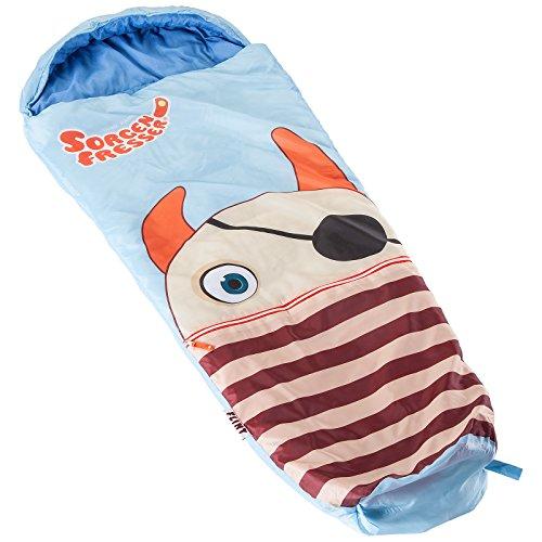 skandika Sorgenfresser Lillifee Schlafsack für Kinder mit großer Tasche, 170 (140 + 30) x 70/45 cm,...