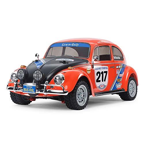 TAMIYA 58650 Volkswagen 58650-1:10 RC VW Beetle Rally MF-01X, ferngesteuertes Auto/Fahrzeug, Modellbau,...