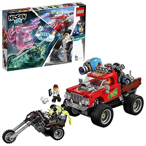 LEGO 70421 Hidden Side EL Fuego´s Stunt Truck Kinderspielzeug, Augmented Reality Funktionen