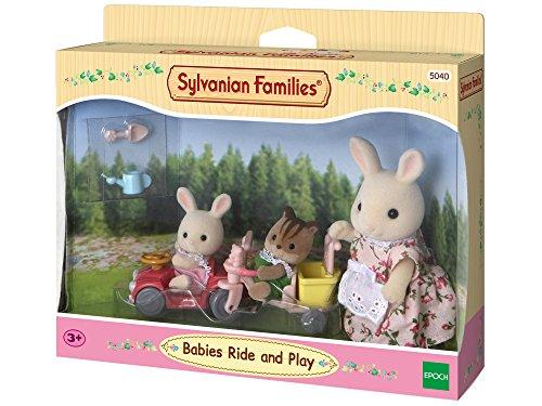Sylvanian Families - 5040 - Babys Fahr und Spiel-Set