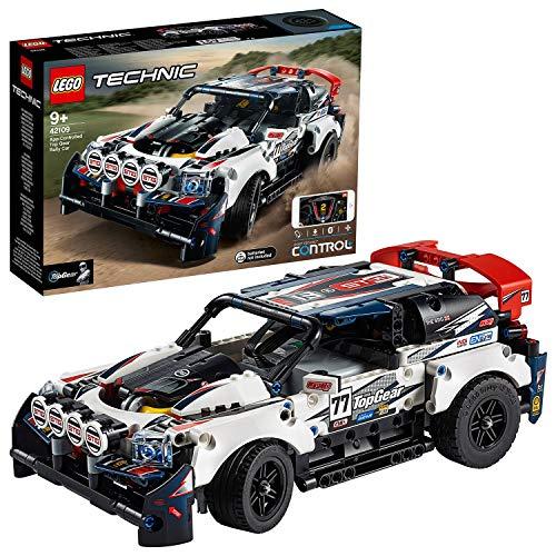 LEGO42109TechnicTop-GearRallyeautomitApp-SteuerungundSmartHub,ferngesteuerteRennauto...
