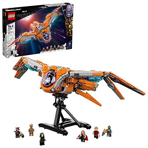 LEGO 76193 Marvel Super Heroes Das Schiff der Wächter Avengers Spielzeug Set mit Raumschiff aus...
