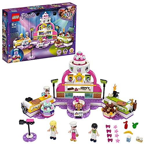 LEGO 41393 Friends Die große Backshow Konstruktionsspielzeug mit Küche und Stephanie Mini Puppe,...