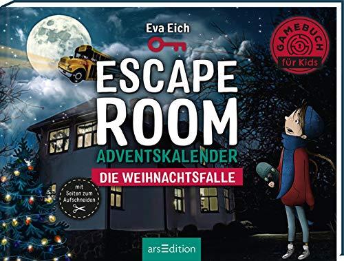 Escape Room. Die Weihnachtsfalle. Ein Gamebuch-Adventskalender für Kinder: Das Original: Der neue...