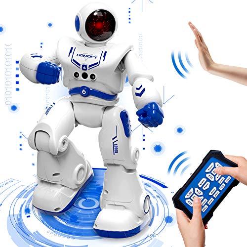 HOMOFY Ferngesteuertes Roboter Spielzeug für Kinder RC Intelligenter Programmierbarer Smart Roboter...