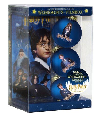 Harry Potter und der Stein der Weisen - Weihnachts-Filmbox (Single Disc inkl. 3 hochwertiger...