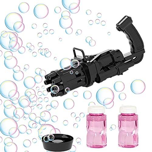 Gatling Bubble Gun TikTok Seifenblasenmaschine Seifenblasenpistole Bubble Blower Seifenblasen Spielzeug...