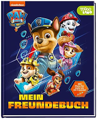 PAW Patrol - Der Kinofilm: Mein Freundebuch: Eintragbuch mit Platz für mehr als 20 Freunde | Mit tollen...