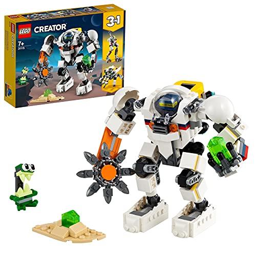 3in1-Weltraum-Bausatz 'Weltraum-Mech' von LEGO Creator