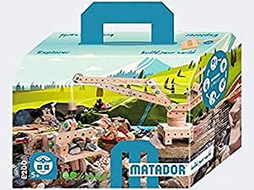 MATADOR Explorer E 200 , Packungsinhalt 318 Teile
