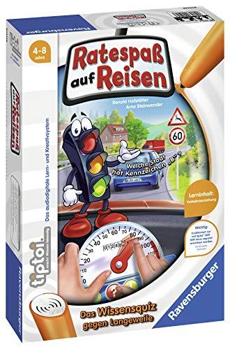 Ravensburger tiptoi 00525 - 'Ratespaß auf Reisen' / Spiel von Ravensburger ab 4 Jahren / Praktisch für...