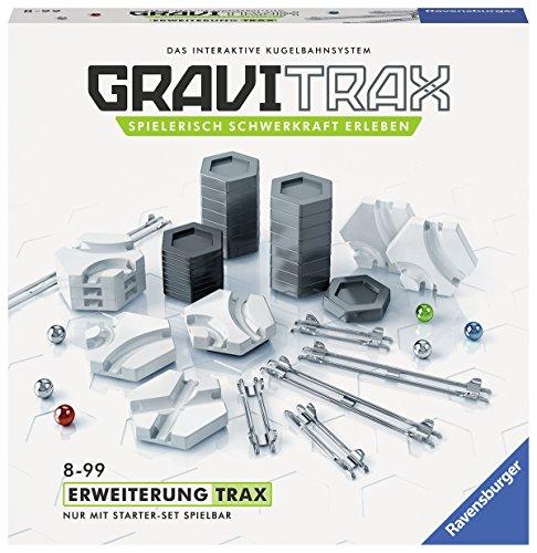 Ravensburger GraviTrax Erweiterung Trax - Ideales Zubehör für spektakuläre Kugelbahnen,...