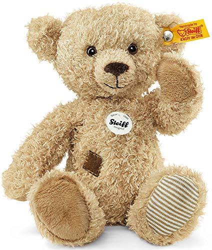 Steiff Theo Teddybär - 23 cm - Kuscheltier für Kinder - weich & waschbar - beige (023491)