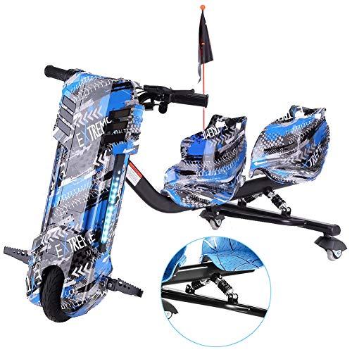 Elektro Motor Dreirad Elektrische Drift-Trikes Mit Doppeltem Federstoßdämpfer ABS-Material,...