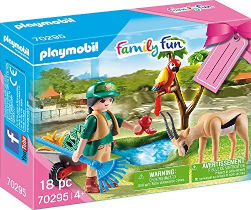 PLAYMOBIL  70295 Geschenkset 'Zoo', ab 4 Jahren