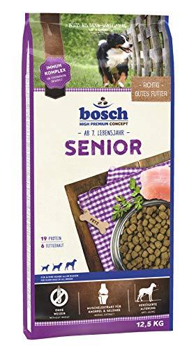 bosch HPC Senior | Hundetrockenfutter für ältere Hunde aller Rassen | 1 x 12.5 kg