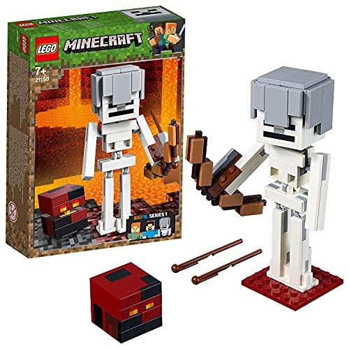Lego 21150 Minecraft BigFig Skelett mit Magmawürfel (Vom Hersteller Nicht mehr verkauft)