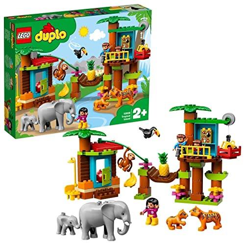 Tier-Spielzeugset 'Baumhaus im Dschungel' von LEGO duplo