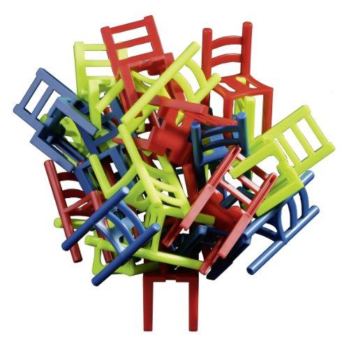 Stapelspiel 'Stuhl auf Stuhl' für Kinder und Erwachsene von Philos
