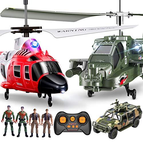 SYMA RC Helikopter Hubschrauber ferngesteuert Indoor Flugzeug Geschenk Kinder S200 3.5 Kanal 2.4 GHz LED...