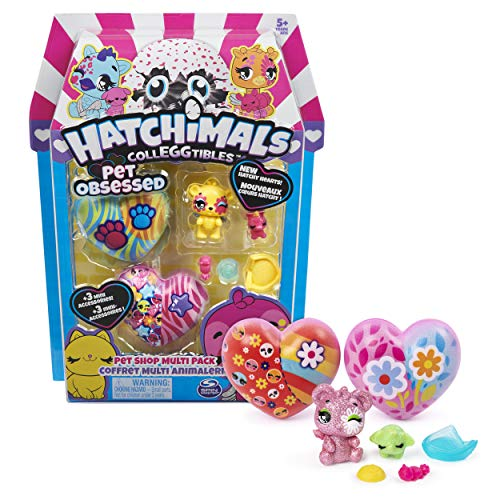 Hatchimals 6054182 - CollEGGtibles Pet Lover Multipack