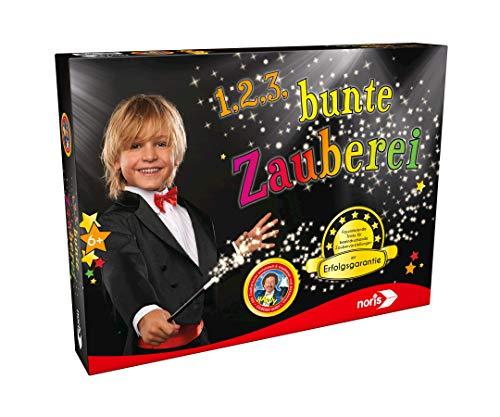 Noris 606321164 1,2,3, … Bunte Zauberei, der Basis Zauberkasten mit Erfolgsgarantie, für Zauberer ab 6...