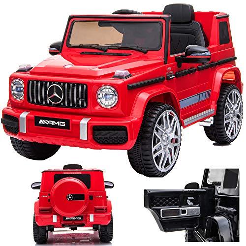 SIMRON Mercedes G 63 G63 AMG V8 Biturbo Kinderauto Kinderfahrzeug Kinder Elektroauto Jeep, SUV,...