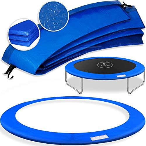 Kesser® - Trampolin Randabdeckung Ø 305 cm, 30cm breit 100% UV-beständig reißfest Federabdeckung...