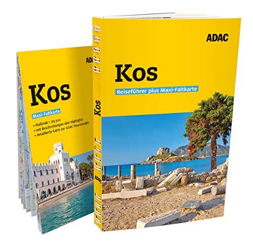 ADAC Reiseführer plus Kos: Mit Maxi-Faltkarte und praktischer Spiralbindung