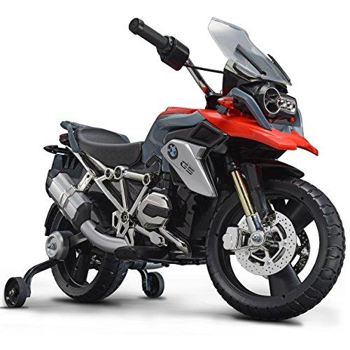 ROLLPLAY Elektro-Motorrad, Mit Stützrädern, Für Kinder ab 3 Jahren, Bis max. 35 kg, 6-Volt-Akku, Bis...