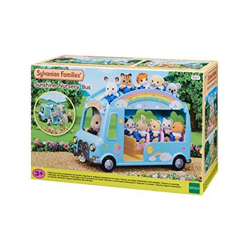 Sylvanian Families 5317 Baby Bus 'Sonnenschein' - Puppenhaus Auto Spielset