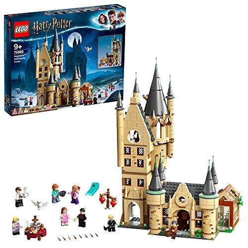 LEGO 75969 Harry Potter Astronomieturm auf Schloss Hogwarts, Spielzeug kompatibel mit der Großen Halle...