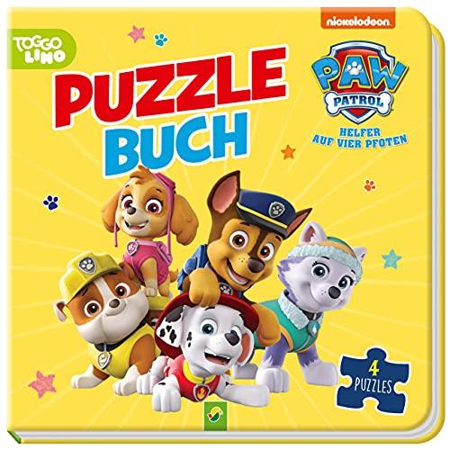 PAW Patrol Puzzlebuch: Mit 4 Puzzles á 12 Teilen
