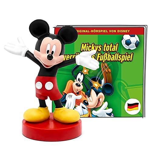 tonies Hörfiguren für Toniebox, Disney – Mickys total verrücktes Fußballspiel, Micky Maus Hörspiel...