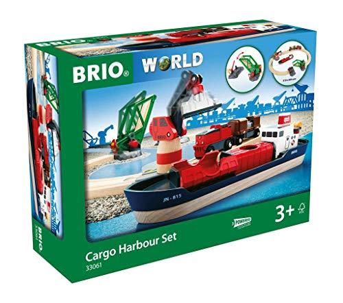 BRIO Bahn 33061 - Container Hafen Set