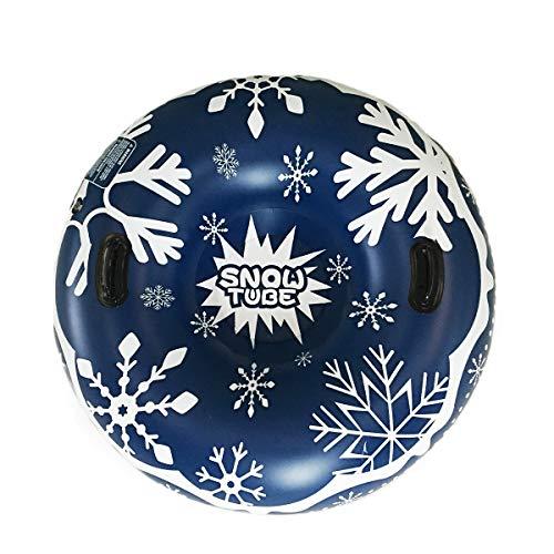 Gogokids Aufblasbare Schneerohr für Schlitteln - Aufblasbarer Schlitten für Kinder und Erwachsene...