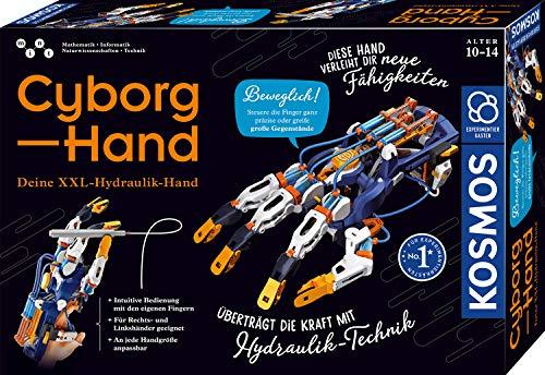 Kosmos 620844 Cyborg-Hand - hydraulische gesteuerte Roboter-Hand größenverstellbar auch für...
