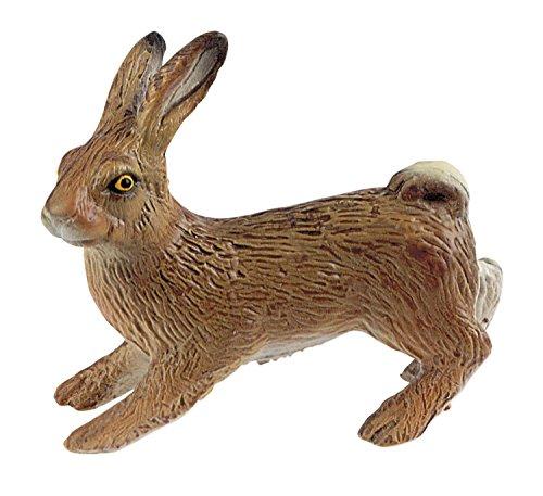 Bullyland 64359 - Spielfigur, Feldhase, ca. 6 cm groß, liebevoll handbemalte Figur, PVC-frei, tolles...