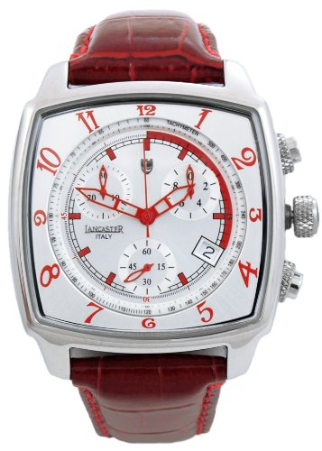 Lancaster Herren-Armbanduhr XL Unico Watch Chronograph Leder 0262WRR