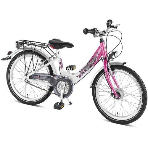 Puky Kinder Skyride 20-3 ALU Kinderfahrrad, White/Pink, 20
