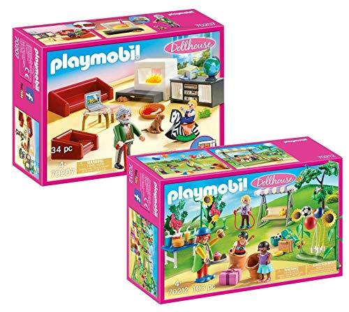 Playmobil® Möbelset für 70205 Dollhouse Puppenhaus oder 9266 Modernes Wohnhaus: 70207 Gemütliches...