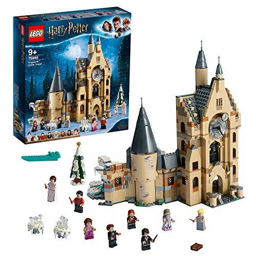 LEGO 75948 Harry Potter Hogwarts Uhrenturm Spielzeug kompatibel mit der Großen Halle und der...