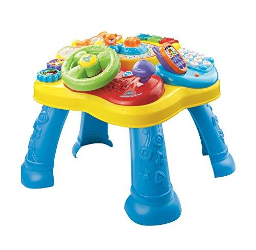 VTech 80-181564 - Abenteuer Spieltisch, Babyspieltisch, EasyMail-Verpackung, mehrfarbig