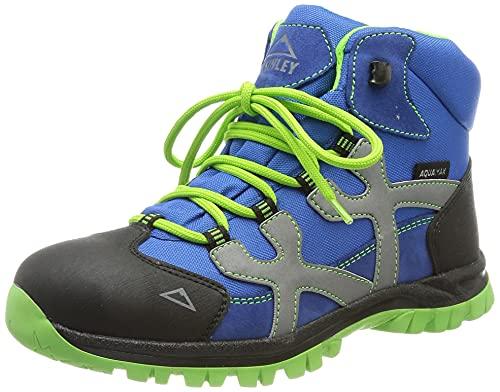 McKINLEY Santiago Pro Aquamax Trekking-& Wanderstiefel, Grün (Green Lime/Blue Dark 906), 38 EU