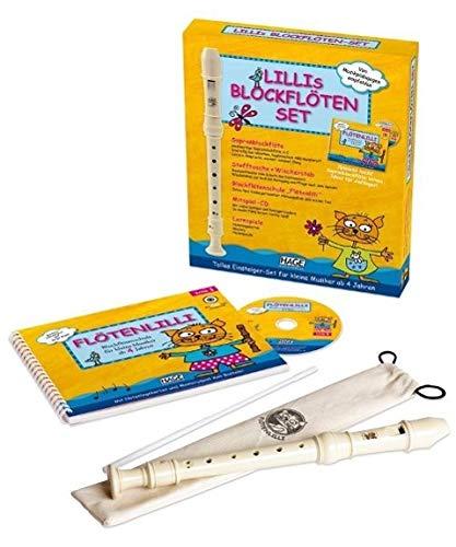 Lillis Blockflöten-Set - Deutsche Griffweise: Das Set enthält alles, was Ihr Kind für einen gelungenen...