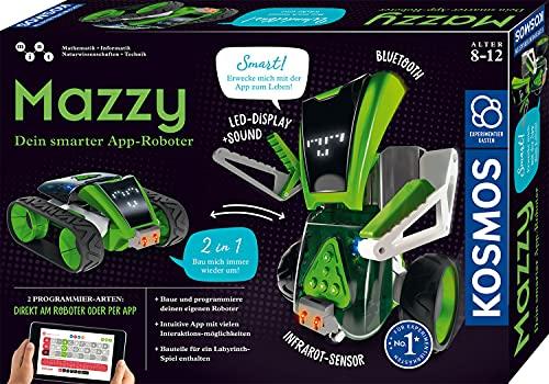 KOSMOS 620691 Mazzy - Dein smarter App-Roboter, Bauen, Programmieren und Spielen mit dem vielseitigen...