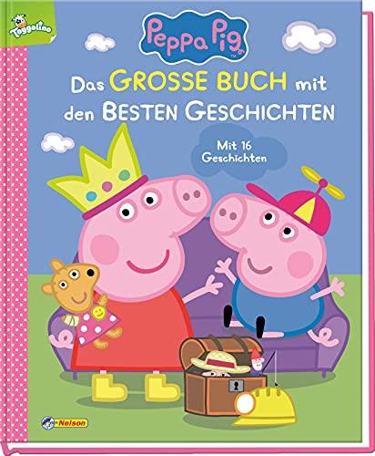 Peppa Pig: Das große Buch mit den besten Geschichten: Mit 16 Vorlesegeschichten | Für Kinder ab 3...
