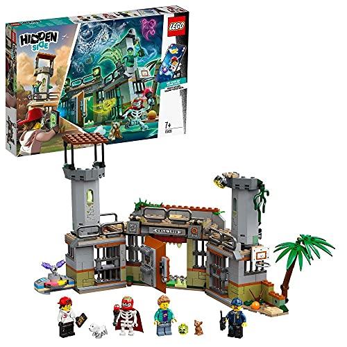 Interaktives Spielzeug-Gebäude 'Newbury's verlassenes Gefängnis' von LEGO Hidden Side