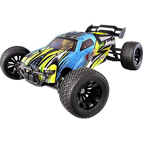 Reely Brushed 1:10 XS RC Einsteiger Modellauto Elektro Truggy Allradantrieb (4WD) RTR 2,4 GHz inkl. Akku...